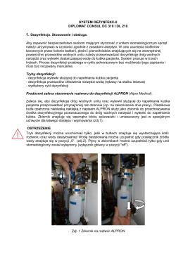 System dezynfekcji DC310