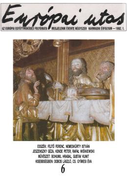 1992.1.szám - Európai Utas