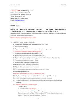 Spis publikacji - Katedra Geomorfologii i Geologii Czwartorzędu