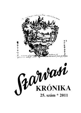 25. szám * 2011 - Szarvasi Krónika