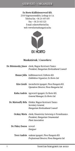 innen - Hortus Hungaricus