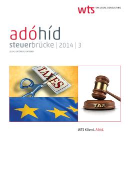 Adóhíd 2014/III