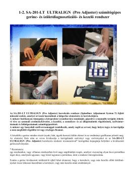 XXI. századi orvosi gyorsdiagnosztika és terápia