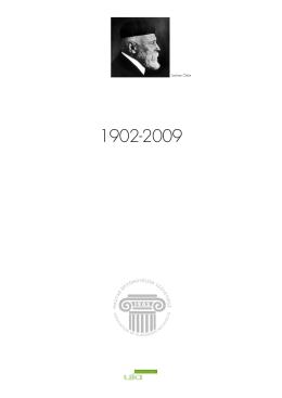 alapító okirat teljes 1902-2009 - Magyar Építőművészek Szövetsége