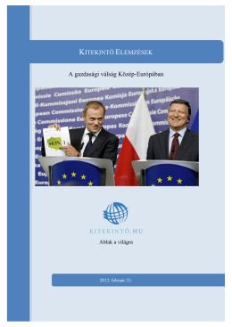 11. A gazdasági válság Közép-Európában