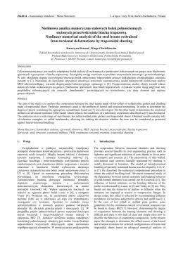 Badania skłonności do pęknięć gorących stali austenitycznych dr inż