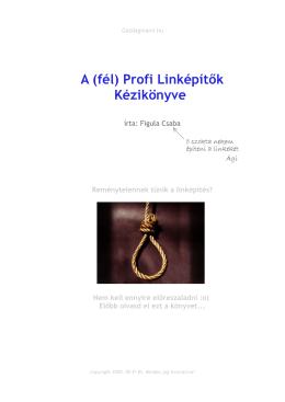 A (fél) Profi Linképítők Kézikönyve