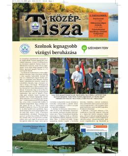 Szolnok legnagyobb vízügyi beruházása - Közép-Tisza