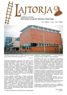 Lajtorja 2014 október - Kölcsey Ferenc Református Gyakorló