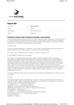 Zarzadzenie Nr 0151.15.2015 z dnia 12 stycznia 2015 r.