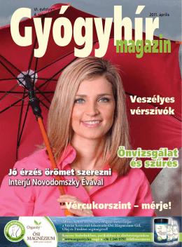 2011. április - Gyógyhír Magazin