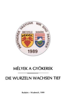 Budaors -Wudersch, 1999