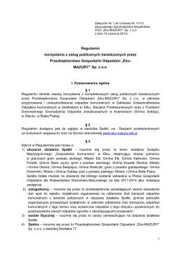 Decyzja o warunkach zabudowy - Strona główna :: PGK Goleniów