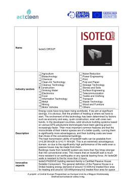 Name IsoteQ GROUP Industry sectors Agriculture Biotechnology