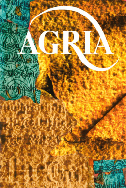 Agria 25. – 2013. tél