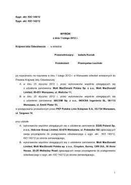 Regulamin Przedsiębiorstwa Wodociągów i