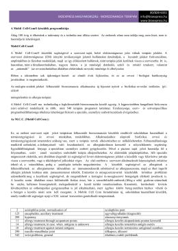 Mobil Cell-Com® Bioexpress Bioexpress Magyarország