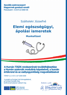 Munkafüzet - Humán TISZK