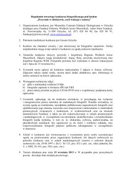 Wakacje 2014 - Gminny Ośrodek Kultury w Puchaczowie