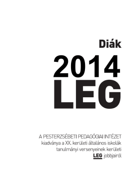 Diák legek 2014. (pdf)