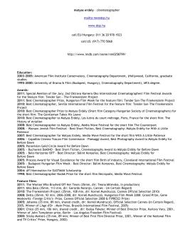 resumé in PDF format