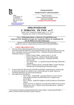 Protokół nr 58/2014 - Dzielnica VII Miasta Krakowa