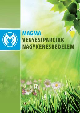 MAGMA Magyarország 2013. katalógus
