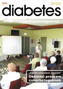 Oktatási program cukorbetegeknek
