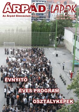 Iskolaújság 2010. október