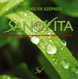 SANOVITA katalógus 2011