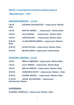 Konkursu ofert rozstrzygnięty Wójt Gminy Ulhówek podaje Wyniki
