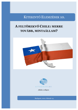 A feltörekvő Chile - 2012
