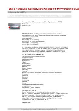 Załącznik do raportu bieżącego nr 6 o subskrypcji KOM12D