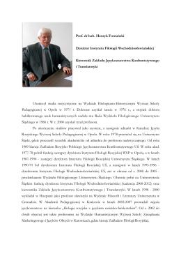 Gajewska T., Sawicki W., (2014). Analiza rentowności outsourcingu