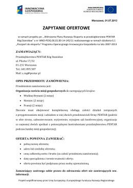 Łódź, dnia 10 stycznia 2013 r. Wydziałowa Komisja ds. Jakości