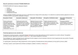 sprawozdanie finansowe za okres od 06.01.2010 do 31.12.2010