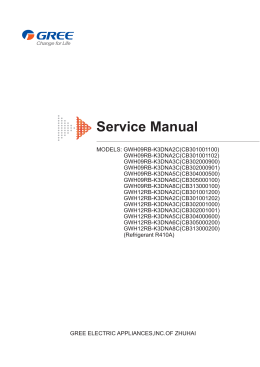 Service Manual - GREE България, GREE Bulgaria