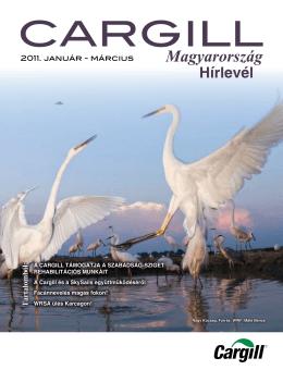 Cargill Magyarország hírlevél 2011. I. negyedév