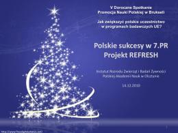 sprawozdanie z działalności merytorycznej 2013