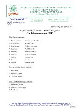 Wykaz instytucji szkoleniowych działających na terenie miasta Legnicy