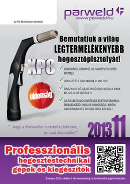Parweld katalógus 2013 AWI (TIG) pisztolyok, MIG/MAG (CO) lég