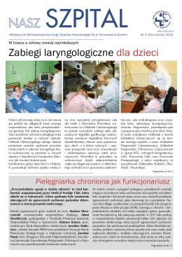 Odpowiedzi - Szpital Powiatowy w Chrzanowie