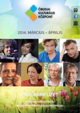 programfüzet - Óbudai Kulturális Központ