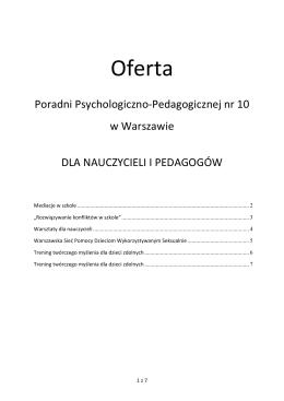 Raport z oceny własnej jednostki w zakresie jakości kształcenia w