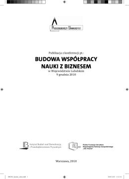 ośrodek współpracy nauki z gospodarką