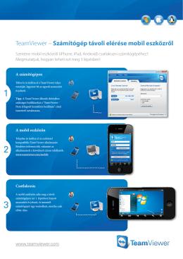 TeamViewer – Számítógép távoli elérése mobil eszközről