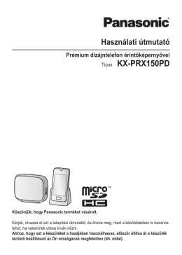 Típus KX-PRX150PD