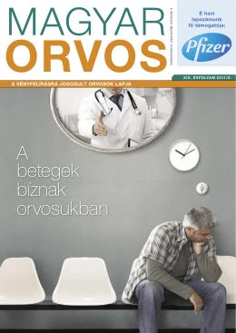 Magyar Orvos, 2011 szeptember