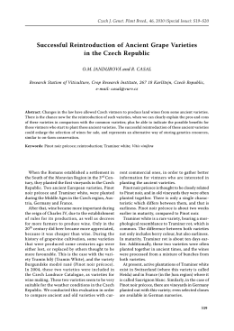 "Call for papers for the Volume V of the series ""Czech"