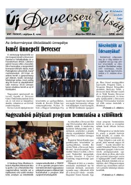 Ismét ünnepelt Devecser - Devecseri Városi Könyvtár és Művelődési